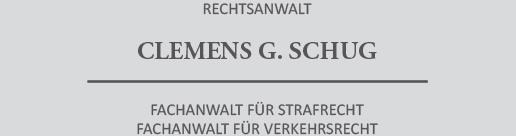Rechtsanwalt CLEMENS G. SCHUG